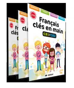 Manuel Français clés en main CE1-CE2 des Éditions SEDRAP conforme aux programmes 2016