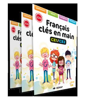 Manuel Francais Cles En Main Ce1 Ce2 Francais Sedrap Fr