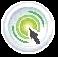 bouton icones clic